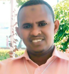 A picture of Ali Mohamoud