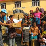 logistics learning alliance relief goods giving