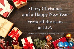 LLA Christmas Banner