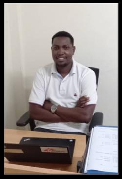 Photo of LLA student Francis Tumuhairwe
